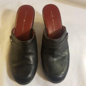 Tommy Hilfiger Vintage Clogs Black